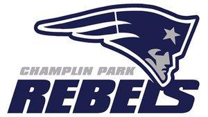 Image result for champlin park rebels baseball