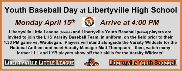 Libertyville Youth Baseball Home Page