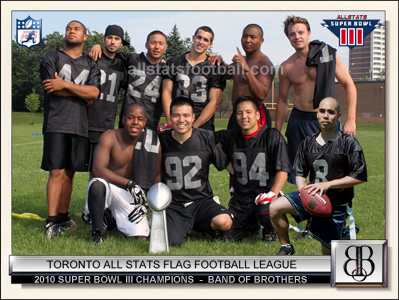 All Stats Toronto Flag Football League