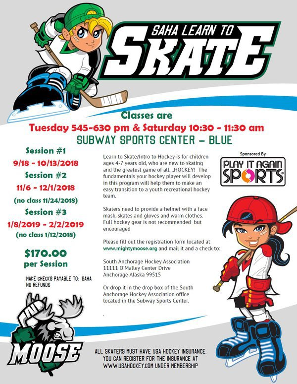 ALL SKATE Learn to Skate - cornerstoneicecenter.org