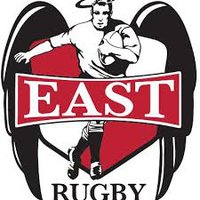 Image result for denver east high angels rugby logo