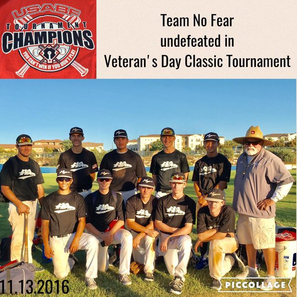 NO FEAR Baseball - Elite Youth Travel Teams