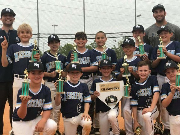 Mission Vipers 10U Black Victorious at Top Gun Super Regional