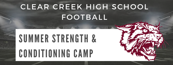 Clear Creek Football Booster Club Home Page