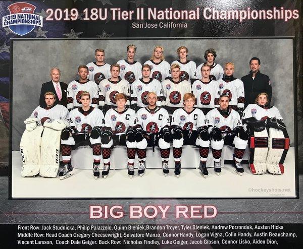 U18 Big Boy Hockey Red Home Page